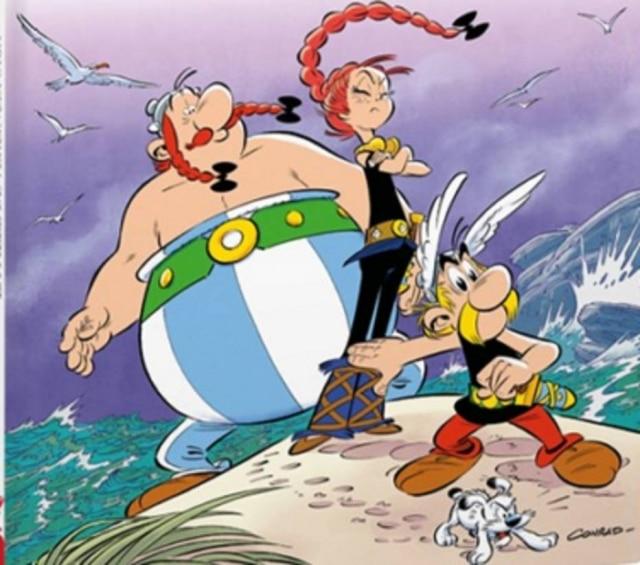 Asterix terá que proteger a jovem Adrénaline na nova HQ.