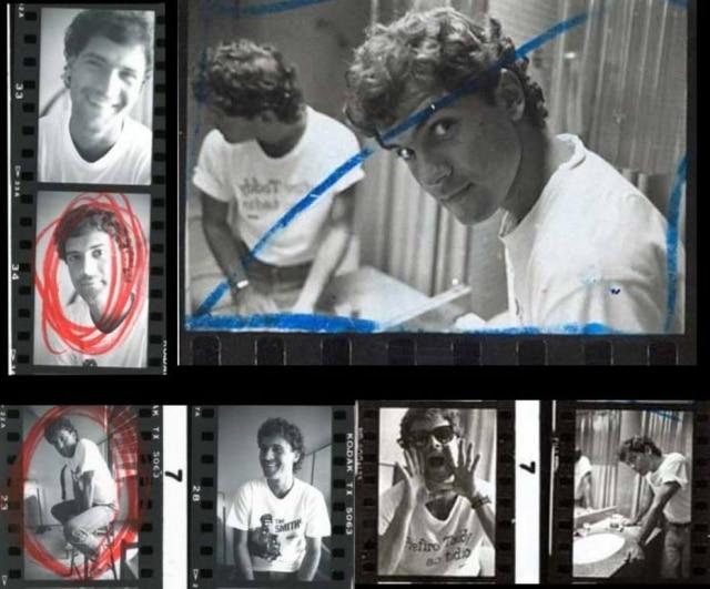 Cazuza nos Contatos Fotográficos do Acervo Estadão
