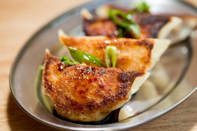 Guiozas fritos do Panda-Ya