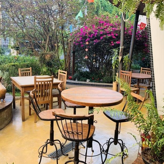 Jardim restaurante Gansaral