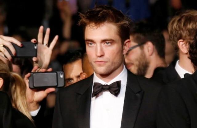 O ator Robert Pattinson durante o Festival de Cannes