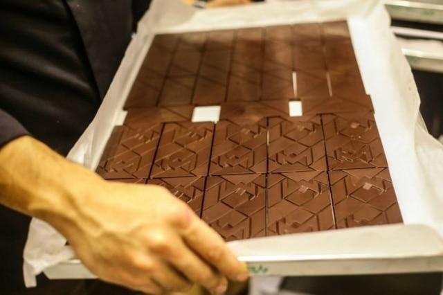 Fábrica da marca de chocolates Mestiço