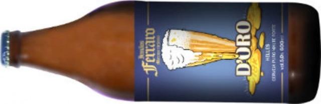 Cerveja Irmãos Ferraro D'Oro