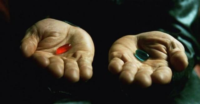 Cena de 'Matrix' (1999), das irmãs Wachowski, que imagina seres humanos vivendo em um mundo simulado