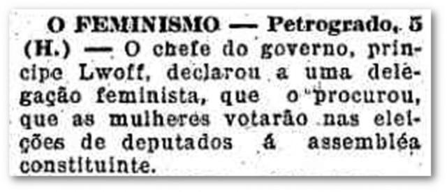 O Estado de S.Paulo- 06/4/1917Clique no link para ler mais.