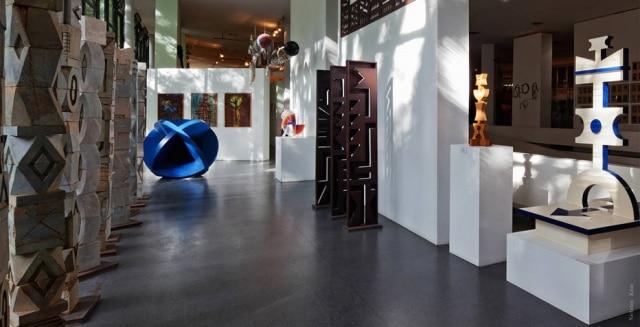 Parte de exposição do Museu Afro Brasil, em São Paulo.