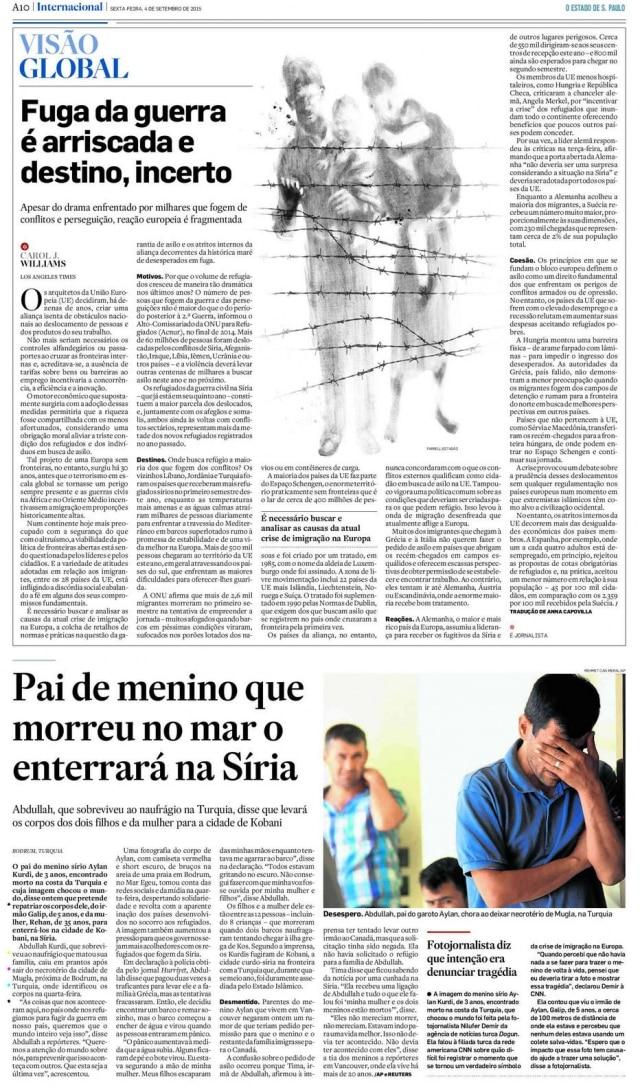 > Estadão - 4/9/2015