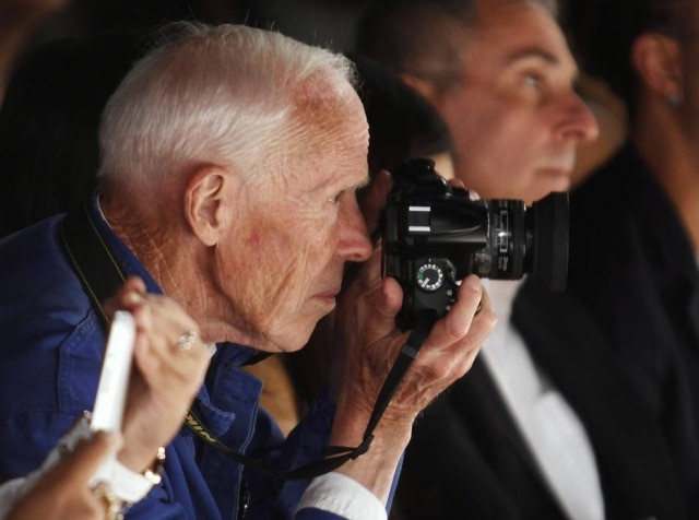 O fotógrafo de moda lendário, Bill Cunningham, morreu aos 87 anos em 2016