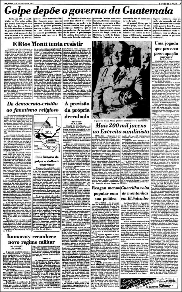 O Estado de S.Paulo - 09/8/1983