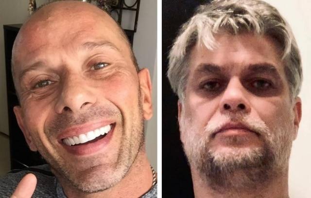 Rafael Ilha e Fabio Assunção.