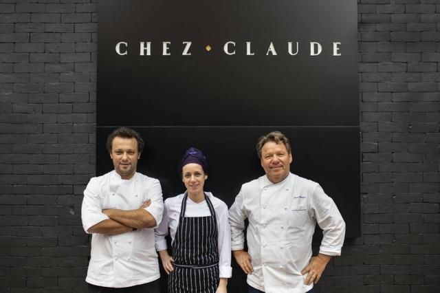 Ao lado do filho Thomas Troisgros e da chef Carol Albuquerque, chef marca volta a capital paulista com Chez Claude, de cozinha autoral casual