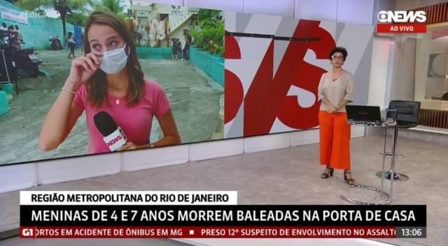 Narayanna Borges e Lilian Ribeiro, da Globo News