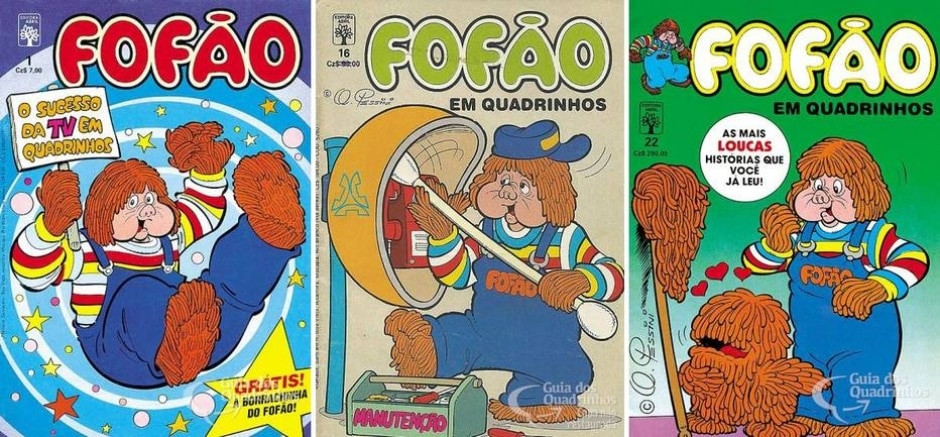 Reprodução de 'Fofão' / Editora Abril   guiadosquadrinhos.com