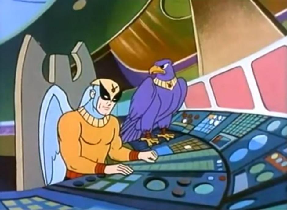 Reprodução de cena do desenho 'Birdman and the Galaxy Trio' (1967) / Hannah-Barbera Productions