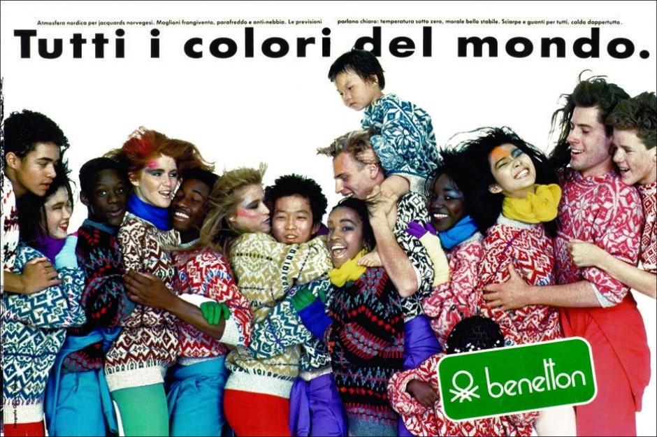 Oliviero Toscani/Divulgação Benetton