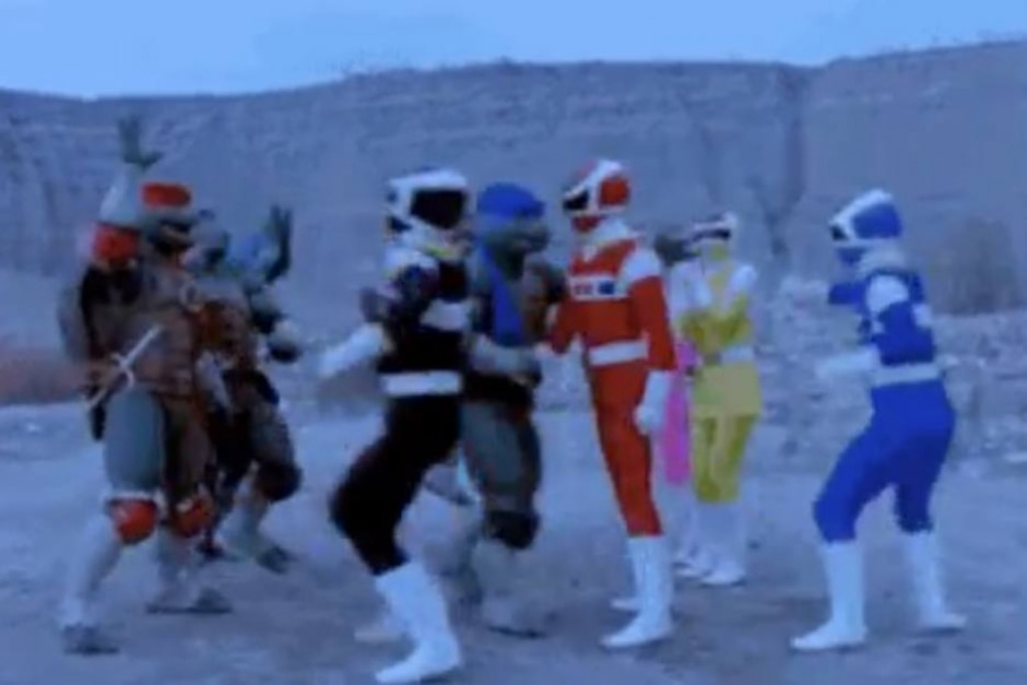 Reprodução de cena de 'Power Rangers no Espaço' (1998) / Fox Kids