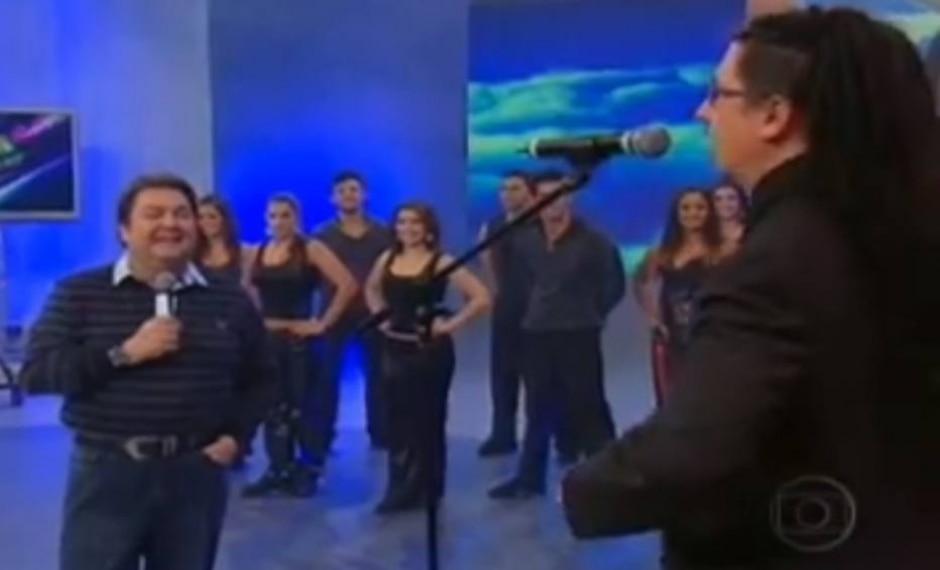 Reprodução de 'Domingão de Faustão' (2009) / Globo