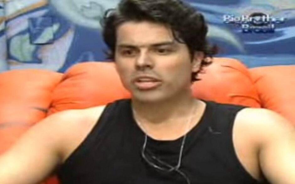 Reprodução de 'Big Brother Brasil 7' (2007) / Globo