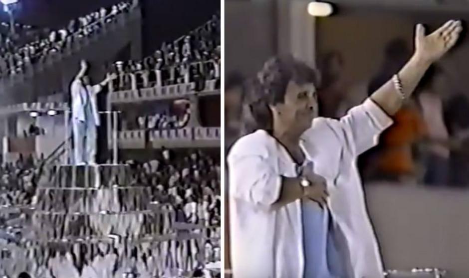 Reprodução de transmissão do carnaval (1987) / Globo