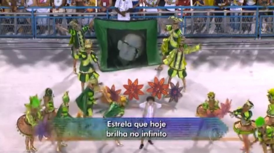 Reprodução de transmissão do carnaval (2016) / Globo