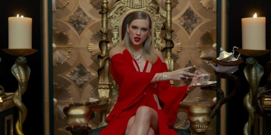 Reprodução do clipe 'Look What You Made Me Do'/Youtube/TaylorSwiftVEVO