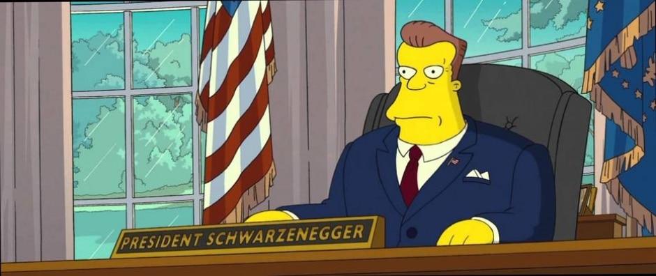 Cena do filme 'Os Simpsons: O Filme'/Twentieth Century Fox