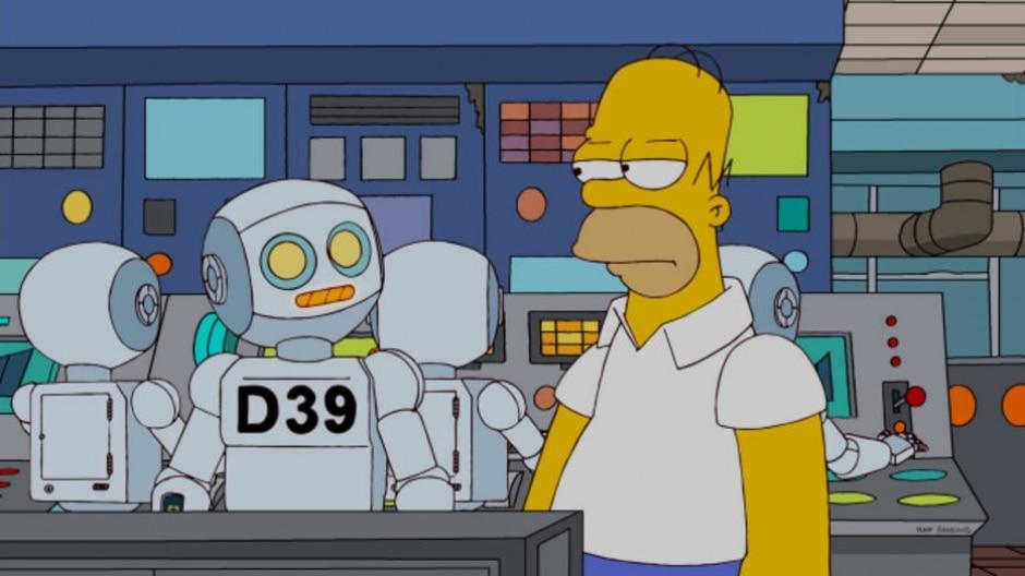 Cena da série 'Os Simpsons'/Fox