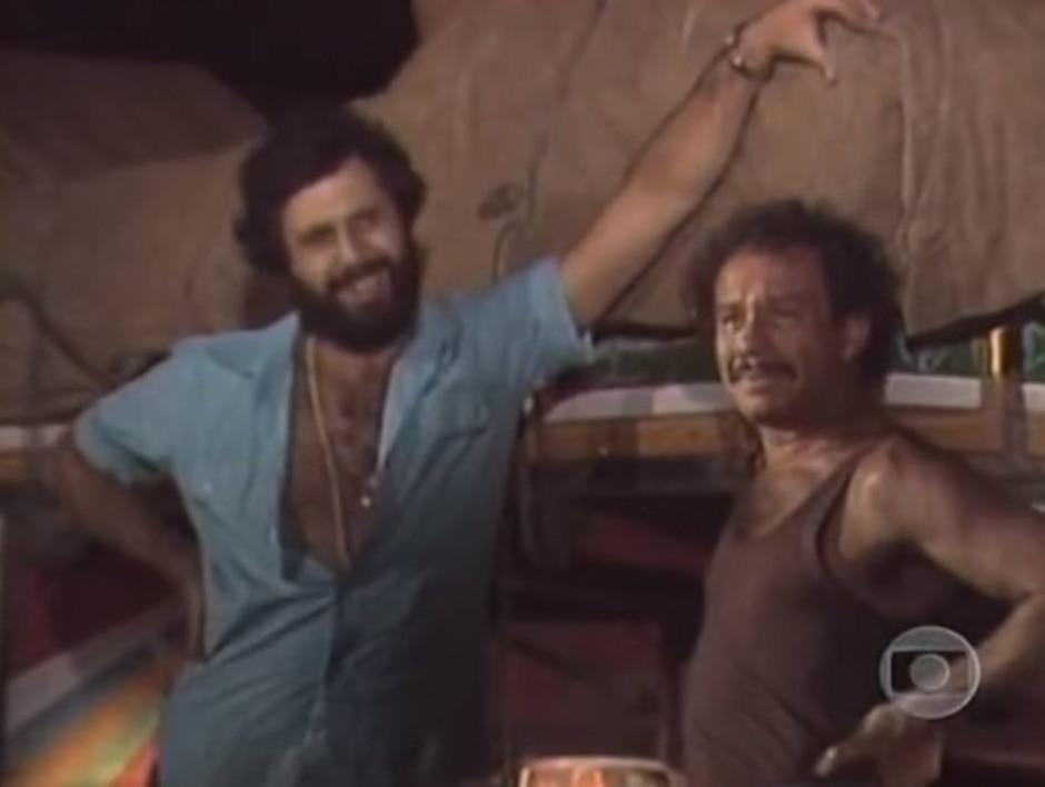 Reprodução de cena de 'Carga Pesada' (1979) / Globo