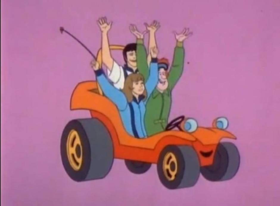Repodução de cena de 'Speed Buggy' (1973)/Hanna Barbera