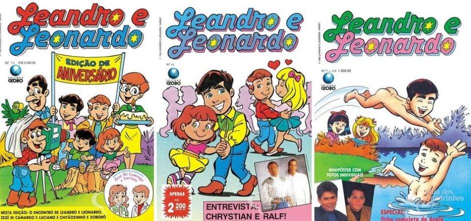 Reprodução de 'Leandro e Leonardo' / Editora Globo | guiadosquadrinhos.com