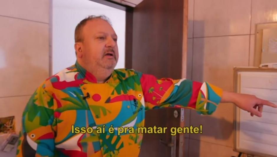 Reprodução de 'Pesadelo na Cozinha' (2019) / Band