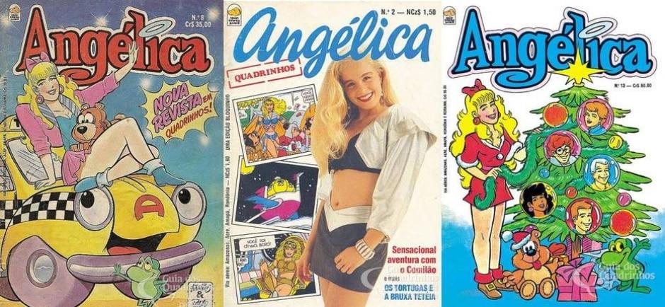 Reprodução de 'Angélica' / Editora Bloch   guiadosquadrinhos.com