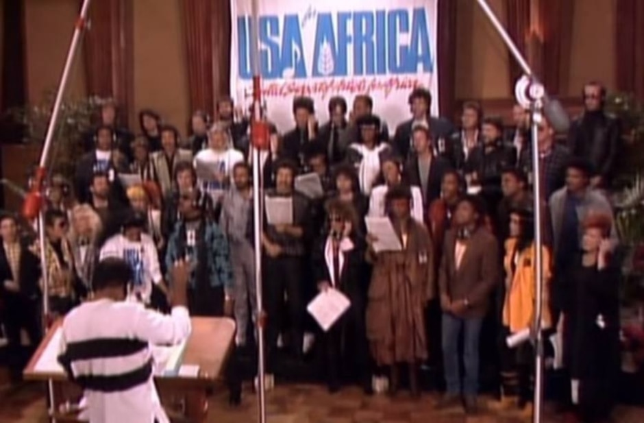 Reprodução de 'We Are The World' (1985) | DVD 'We Are the World: The Story Behind the Song' (2005)