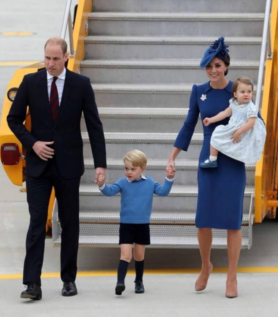 Reprodução/Facebook Família Real Britânica