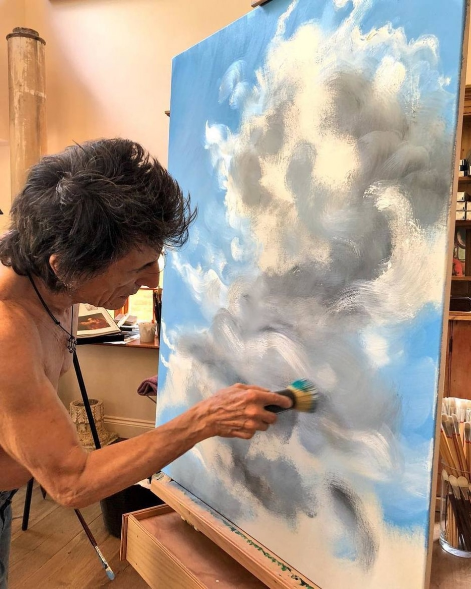 Instagram / @ronniewood