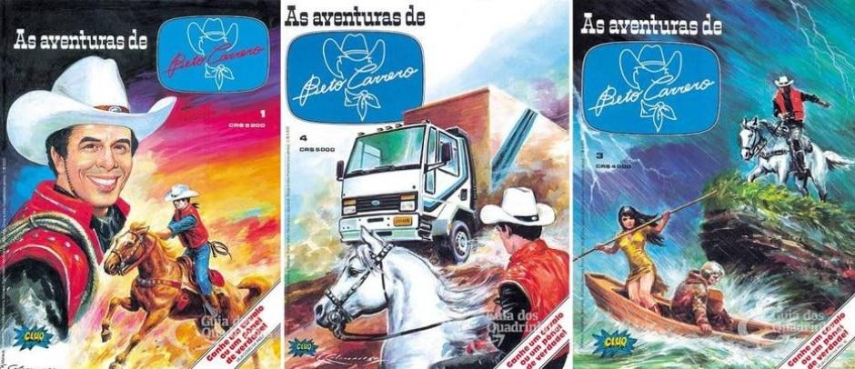 Reprodução de 'As Aventuras de Beto Carreiro' (1985) | guiadosquadrinhos.com