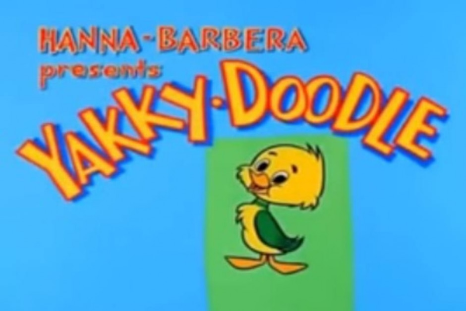 Reprodução de cena de 'Yakky-Doodle' (1961) / Hanna-Barbera