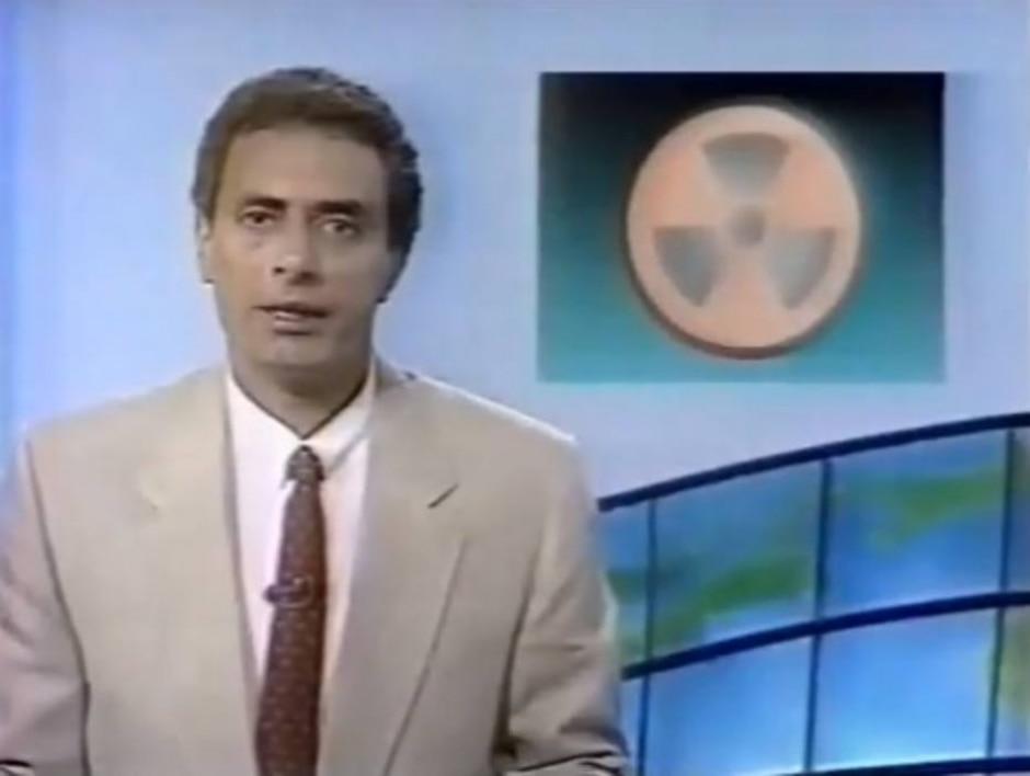 Reprodução de 'Jornal da Cultura' (1989) / TV Globo