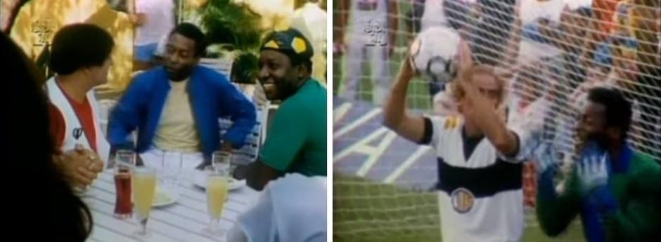 Reprodução de 'Os Trapalhões e o Rei do Futebol' (1986)
