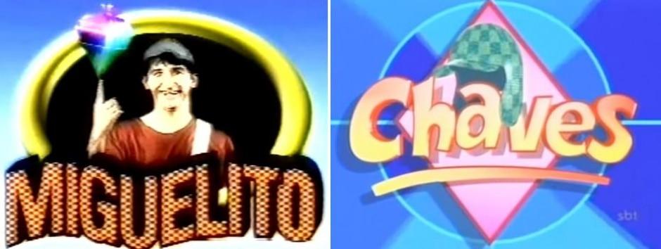 Reprodução de 'Chaves' (1973) / Televisa | Reprodução de 'Miguelito' (2000) / RedeTV!