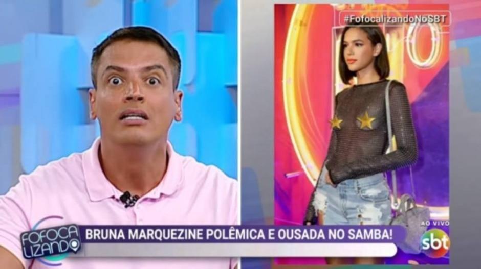 Reprodução de 'Fofocalizando' (2019) / SBT
