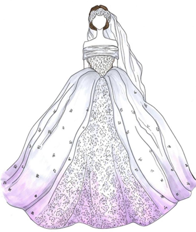 Veja Desenhos Dos Vestidos De Noiva Mais Famosos De Todos Os