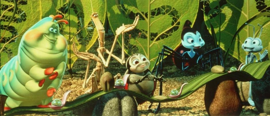 Reprodução de cena de 'Vida de Inseto' (1998) / Disney