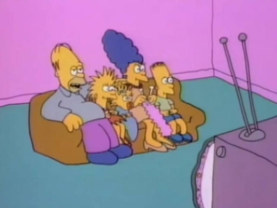 Reprodução de cena de 'Os Simpsons' (1987) / Matt Groening
