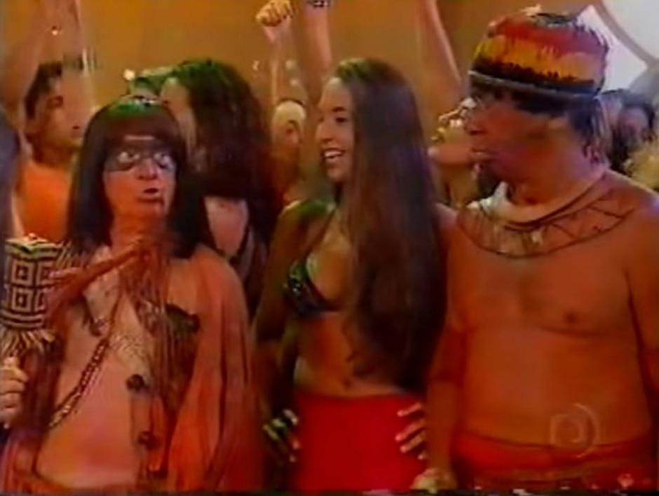 Reprodução de cena de 'Zorra Total' (2005) / Globo
