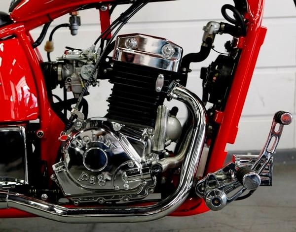 Moto chopper de fábrica - Jornal do Carro - Estadão